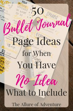 Needing a little inspiration in your bullet journal? Here are 50 bullet journal page ideas (with examples!) that are sure to give you plenty of ideas! Check it out now!