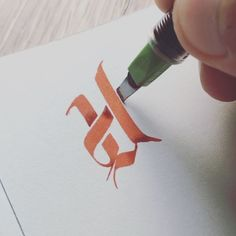 Letter #u #you #alphabet #letters #lettering #custom #floral #red #ink #inked #practice #drawing #pen #writing #calligraphy #calligraffiti #calligrafia #typography #letter #3 #d #3d #style