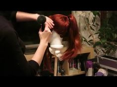 Cosplay Wig - High Ponytail Tutorial - YouTube
