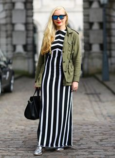 Go for #Glamour with #monochrome and #waves at #FashionWeek