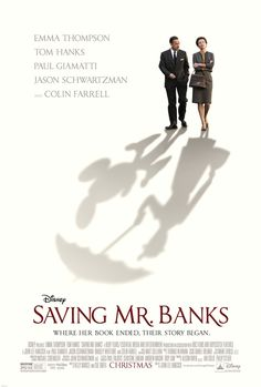 Banks With Emma Thompson, Tom Hanks, Annie Rose Buckley, Colin Farrell. Author P. Travers reflects on her childhood after reluctantly meeting with Walt Disney, who seeks to adapt her Mary Poppins books for the big screen. Emma Thompson, Colin Farrell, Saving Mr Banks, Walt Disney, Disney Wiki, Punk Disney, Disney Nerd, Disney Family, Disney Magic