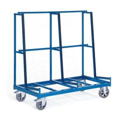 GTARDO.DE:  Plattenwagen einseitig, Tragkraft 1200 kg, Ladefläche 1x 1680x430 mm, Maße 1680x880 mm 654,00 €