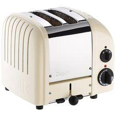 Buy Dualit NewGen Toaster, 2-Slice, Canvas White Online at johnlewis.com