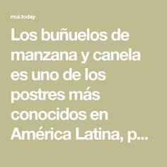 Los buñuelosde manzanay canela es uno de los postres más conocidos en América Latina, por lo que estamos seguros que esta receta se convertiráen tufavorita Canela, Chocolate Sponge Cake, 2 Ingredients, Zucchini Sticks, Banana Dessert, Chicken Nuggets