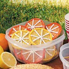 Citrus Cookies recipe