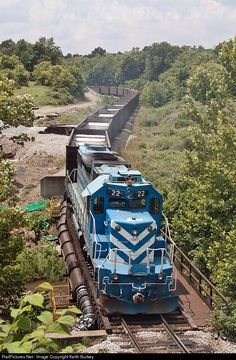 RailPictures.Net Photo: 22 Cumberland Mine Railroad EMD SD38-2 at Mapletown, Pennsylvania by Keith Burkey