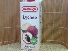 Lychee Fruchtsaftgetränk, Maaza, 1 ltr. Tetra