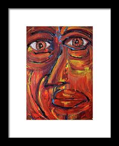 Face Framed Print by Ludovico Misino. All framed prints are professionally printed, framed, assembled, and shipped within 3 - 4 business days and delivered ready-to-hang on your wall. Choose from multiple print sizes and hundreds of frame and mat options.