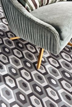 Stardust Zenith in Twilight is inspired by patterns, prints and fashions of the Walker Zanger, Twilight, 1970s, Loft, Interior Design, Patterns, Inspired, Prints, Home Decor