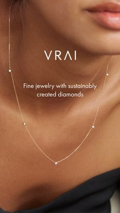 Details about  /Simple .30CT Rose Cut Diamond and Seed Pearl 14K Yellow Gold Necklace