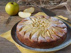 Torta+di+mele,+yogurt+e+mandorle