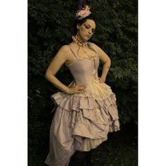 """Fantasy Wedding Dress """"Kirstin Gown"""" Steampunk Alternative Style-Pick your Colors"""