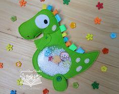 Dinosaurio espía bolsa, juego, buscar y encontrar, tranquila sensorial, bolsa ocupada, Montessori viaje del juguete, para niños pequeños aprendiendo