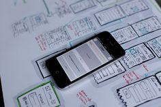 Screenflow and testing prototype. UX, UI