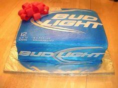Bud Light Cake!