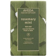 Aveda Women's Aveda 'Rosemary Mint' Bath Bar (21 CAD) ❤ liked on Polyvore featuring beauty products, bath & body products, body cleansers, fillers, beauty, makeup, green, no color, body cleanser and bath & body