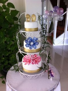 birthday cake for grand father | my grandma's 90th birthday cake | Flickr - Photo Sharing!