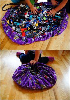 lego storage playmat bag