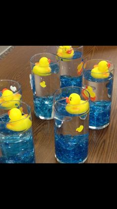 Rubber Ducks Baby Shower Party Ideas Baby Shower Pinterest