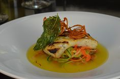 Bar Vinedo - Grilled Halibut