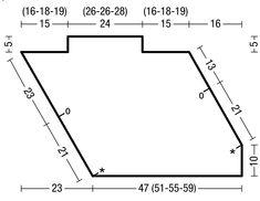 Топ с асимметричным низом