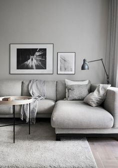Living in an apartment, or in an older home with tiny rooms, can present a challenge: how to make your limited space seem larger. Try these 80 Stunning Modern Apartment Living Room Decor Ideas And Remodel. Room Design, House Interior, Minimalist Living Room, Living Room Scandinavian, Living Room Decor Apartment, Interior, Apartment Living Room, Living Room Grey, Room Interior