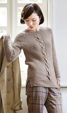 Raglan Sleeve Pullover
