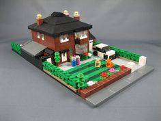 Mini LEGO detached house   Flickr - Photo Sharing!