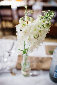 White Flowers Tables Decor Delightful Natural Pretty London City Travel Wedding http://www.mariannechua.com/