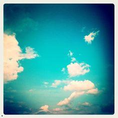 Mr. Cloud is having a run: Day 4 of #30Daysofcreativity