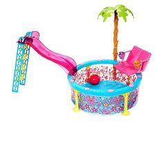 "Barbie Glam Pool Playset - Mattel - Toys ""R"" Us"