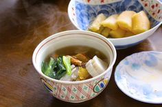 Japanese food is really good not only the taste but also the appearance! Japanese Soup, Japanese Style, Asian Recipes, Sushi, Good Food, Foods, Dishes, Drinks, Tableware