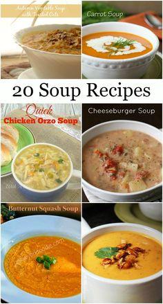 20 Soup Recipes