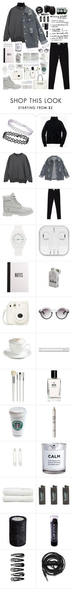 """""""pressure"""" by neightasha ❤ liked on Polyvore featuring Topshop, J.Crew, Timberland, Frame, Nixon, Fujifilm, Monki, CASSETTE, Sur La Table and Cath Kidston"""