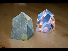 Origami Instructions: Triangular Box (Hans-Werner Guth) - YouTube