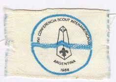 16º Conferencia Scout InteramericanaBuenos Aires, Argentina18 al 23 de septiembre de 1988 22 paises Scouts, Badges, Throw Pillows, Buenos Aires Argentina, Buenos Aires, September, Cushions, Boy Scouts, Decorative Pillows