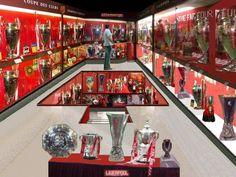 Liverpool Fc Trophy Room