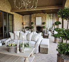 elegant outdoor room