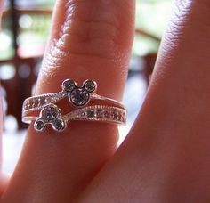 disney wedding rings mickey mouse