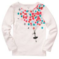 Baby Girl Tops & T-Shirts | Carters.com