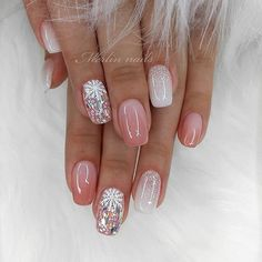 The advantage of the gel is that it allows you to enjoy your French manicure for a long time. There are four different ways to make a French manicure on gel nails. Simple Nail Art Designs, Gel Nail Designs, Nails Design, Xmas Nails, Holiday Nails, Gorgeous Nails, Pretty Nails, Nagel Stamping, Natural Gel Nails