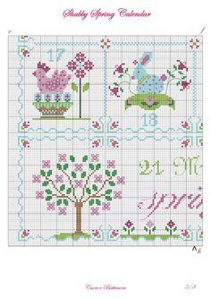 (3) Gallery.ru / Фото #3 - Shabby Spring Calendar - Marina-Melnik