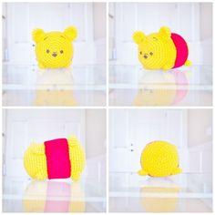 Disney Tsum Tsum Winnie the Pooh Medium Crochet Amigurumi Plush Crochet Gifts, Crochet Toys, Free Crochet, Knitting Projects, Crochet Projects, Crochet Ideas, Crochet Patterns, Backyard Monsters, Winnie The Pooh Friends