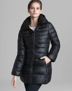 canada goose down coat - camp hooded lightweight