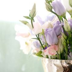 Pastel lisianthus  Photo credit Billingham Photography ---------------------------------------------------------- To see more of our floral designs visit our website or blog - link in profile