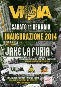 Jake La Furia live @ Vidia Club http://www.nottiromagnole.it/?p=12643