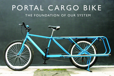 The Portal Cargo Bike, with integrated pto to power tools