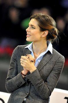 Charlotte Casiraghi - Charlotte Casiraghi Cheers in Paris