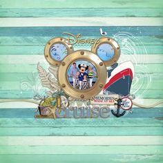 Disney Cruise Cover by Lori at Designer Digitals