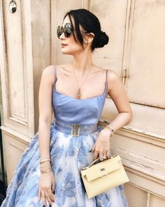 The Real Crazy Rich Asian - Heart Evangelista - Get The Look - Fashion Trends Asian Fashion, Look Fashion, Trendy Fashion, Fashion Outfits, Fashion Tips, Fashion Design, Fashion Trends, Africa Fashion, Couture Mode